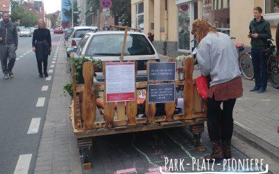 Park-Platz-Pioniere starten