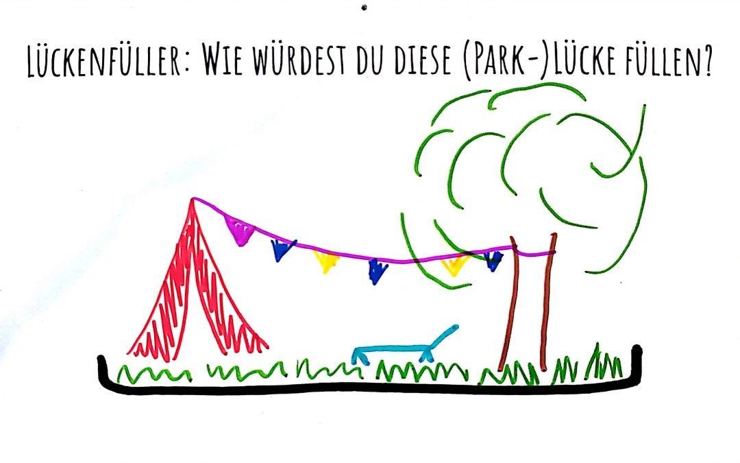 Park-Platz-Pioniere Saison Auftakt