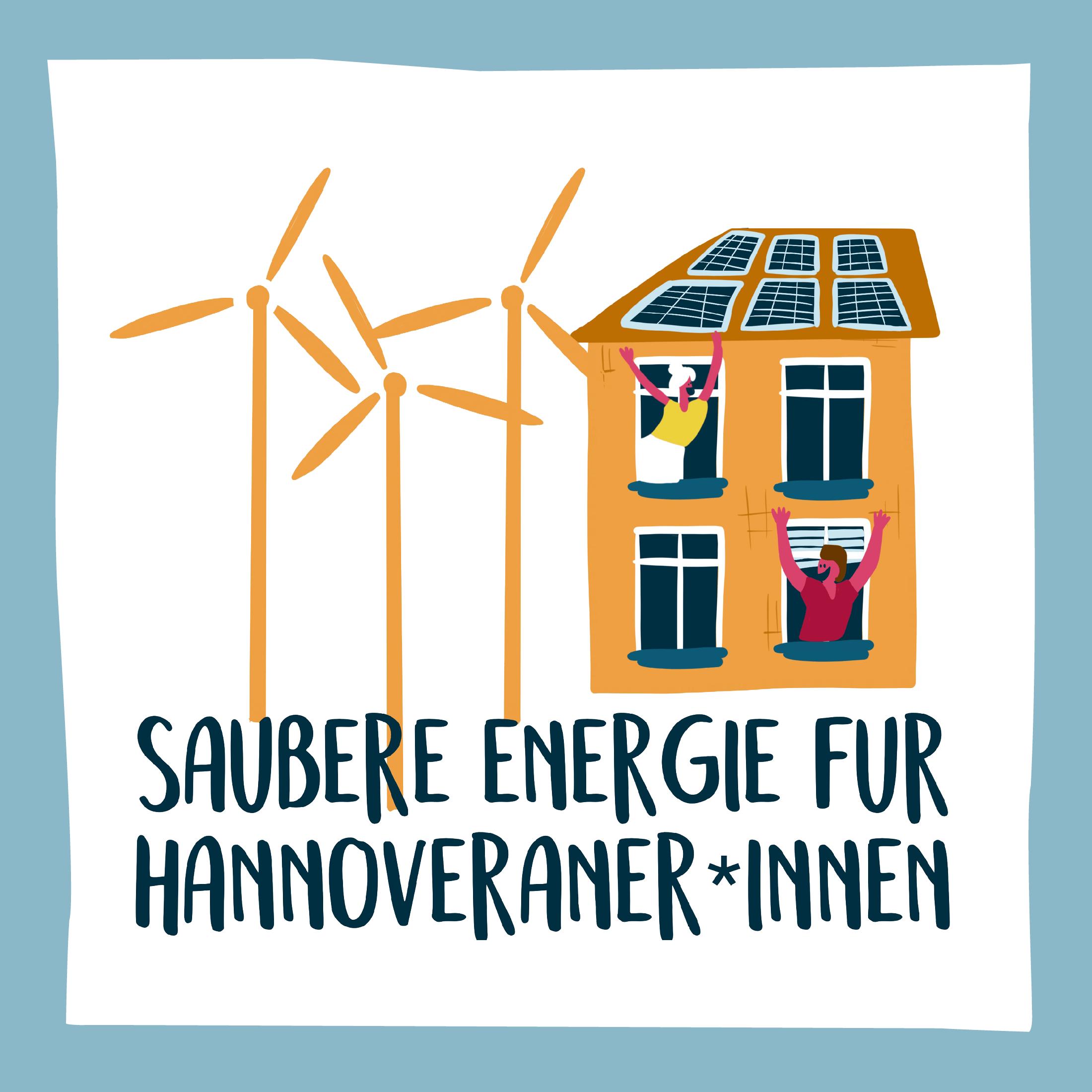saubere Energie für Hannoveraner*innen