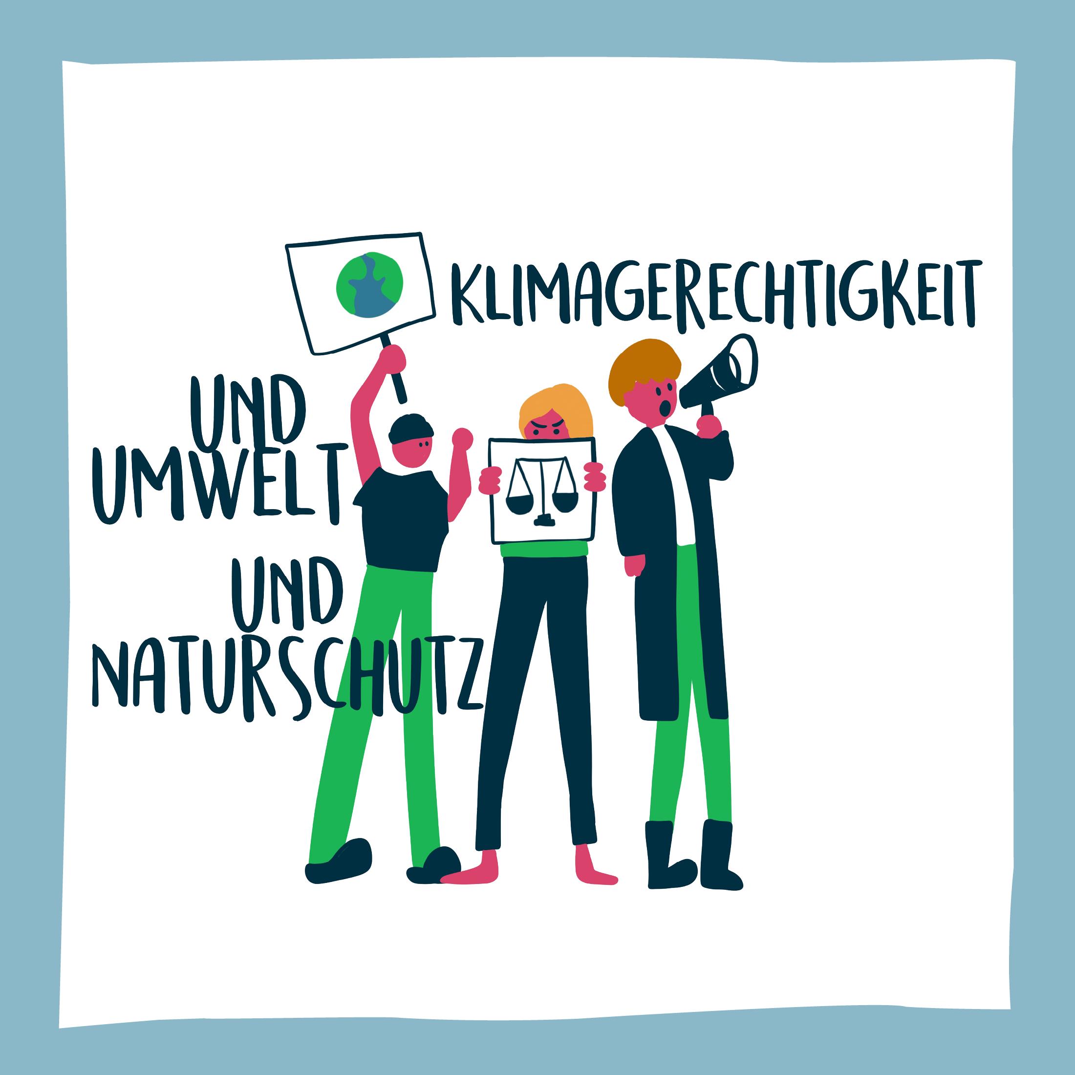 Klimagerechtigkeit und Umwelt und Naturschutz